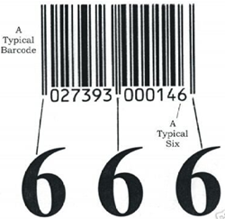 Barcode Lambang Setan?
