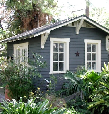 Turning a garden shed into a nautical seaside escape for Seaside garden designs