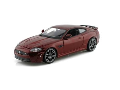 Jaguar Diecast BBurago No. 18-21063/Red 1/24th Scale Diecast Jaguar XKR-S In Red