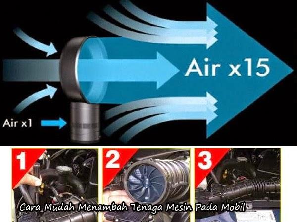 Tips Otomotif - Cara Mudah Menambah Tenaga Mesin Pada Mobil Agar Lebih Kencang