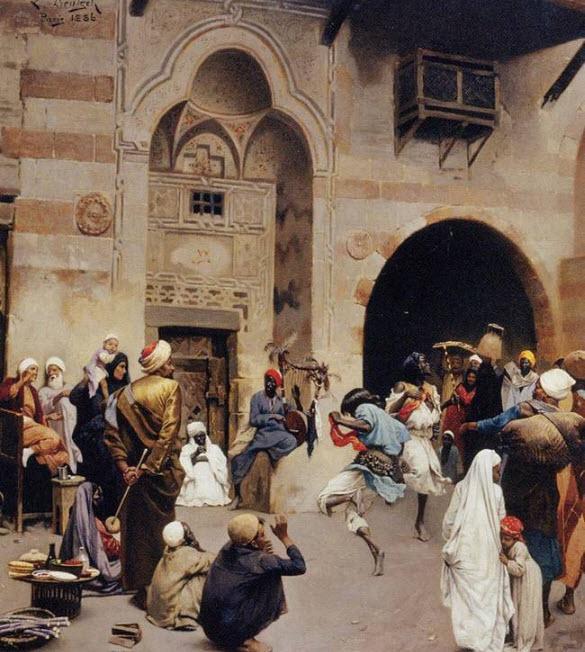 Art Merchant Paintings
