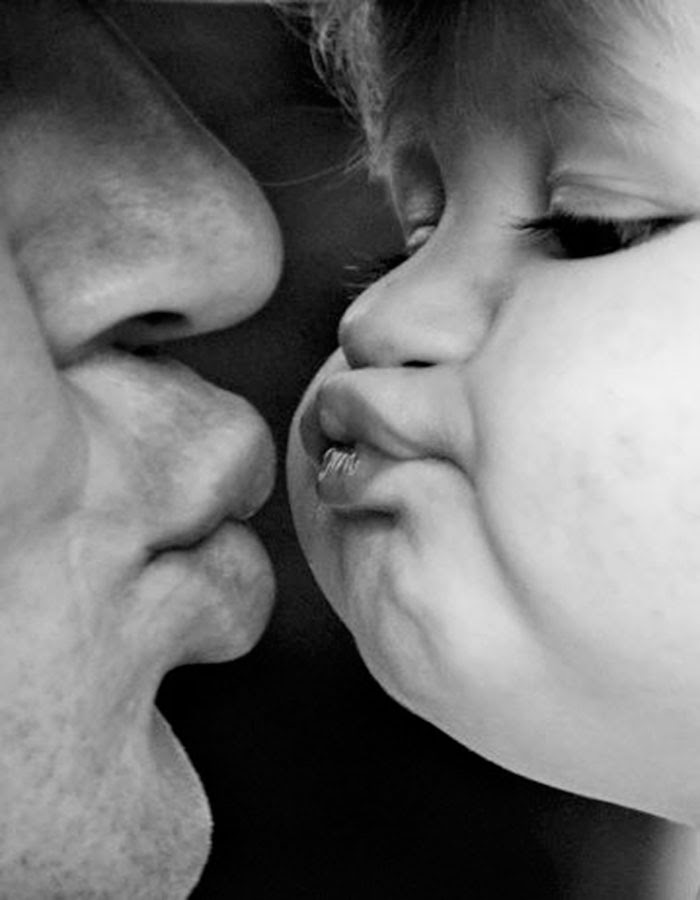 Porque no hay mejor demostración de amor que un beso