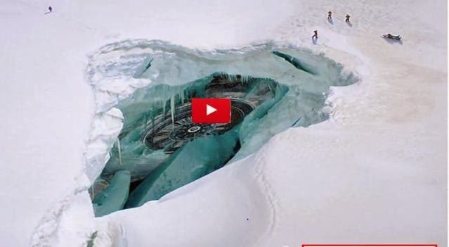 World Of Ufo Alien Base And Flying Saucer Found In Antarctica