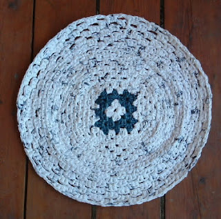 Making Crochet Rugs From Plastic Grocery Bags