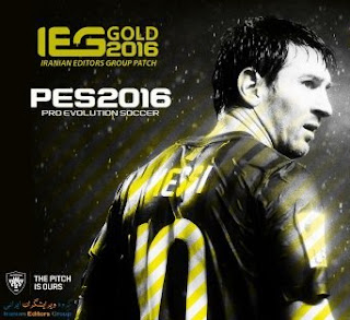 Patch PES 2016 Terbaru dari IEG Gold Patch 2.0 AIO