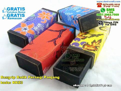Dusgrip Batik Persegi Panjang Karton Kain Batik