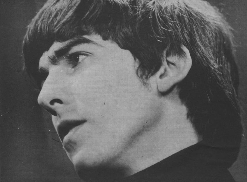 George Harrison Teen Screen 1964