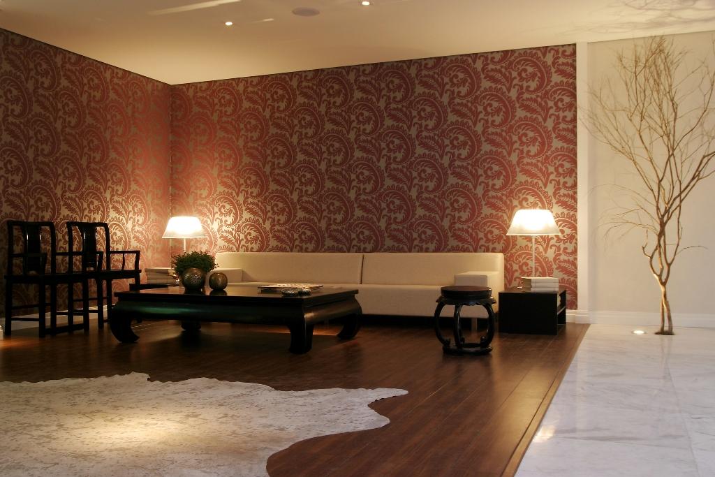 Eliane sampaio interiores o papel subiu as paredes - Modernizar boiserie ...