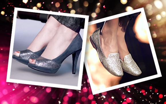 sapatos com glitter na moda inverno