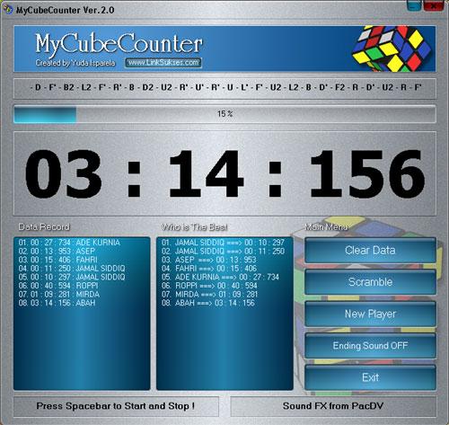 Rubuk's Cube Timer