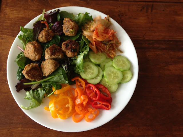 Worthy Pause Paleo Food Blog: Potsticker Paleo Meatballs