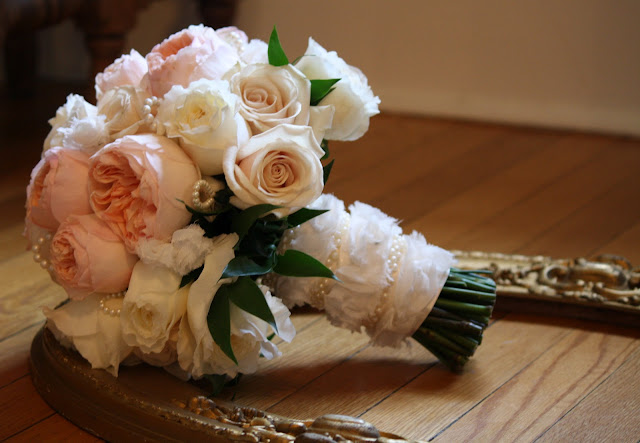 Saratoga Hall of Springs Wedding Flower Bouquet - Splendid Stems Event Florals