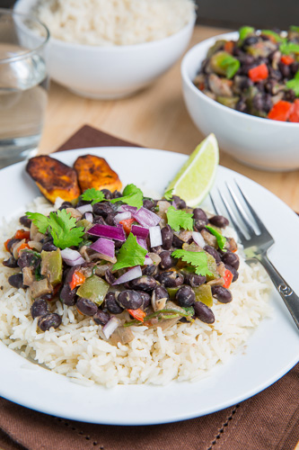Cuban Black Beans and Rice (Moros y Cristianos)