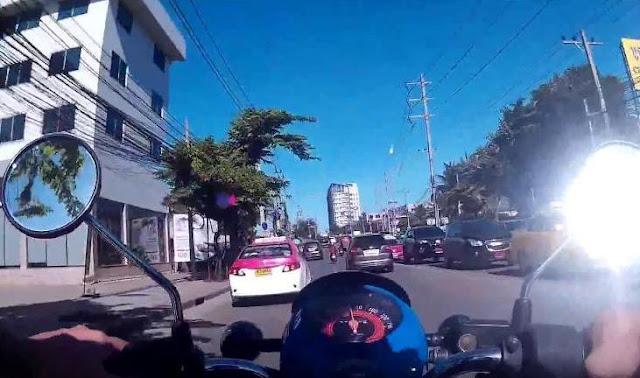 Pánico por un meteorito en Bangkok, Tailandia