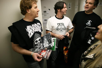 Backstage with Eddie Trunk, Don Jamieson and Jim Florentine of That Metal Show