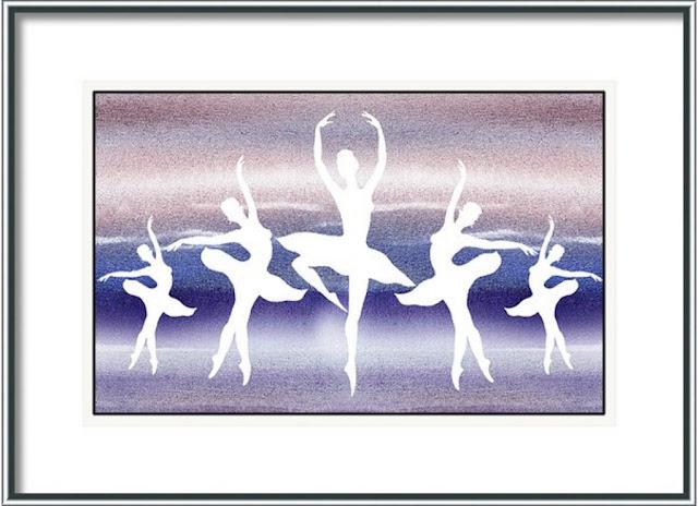 Swan Lake Ballet art