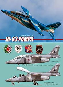 """Serie Aeronaval  n°24<br> """"IA-63 """"Pampa"""""""