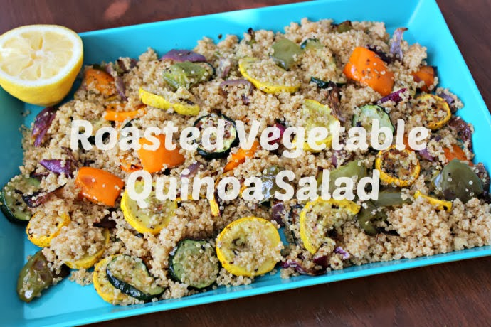 KEEP CALM AND CARRY ON: Roasted Vegetable Quinoa Salad
