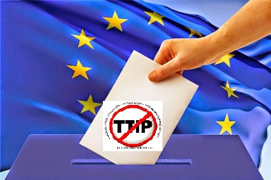 #StopTTIP, #NoAlTTIP, #TTIP