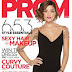 Nicole Anderson on the Cover of Teen Prom!
