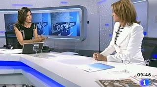 Ana Pastor entrevista a Dolores de Cospedal en Los Desayunos de TVE