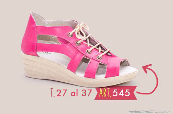 zapatos para nenas new star primavera verano 2014