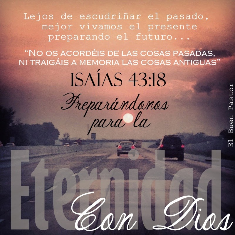 Isaias 43 18 e 19 Isaías 43:18