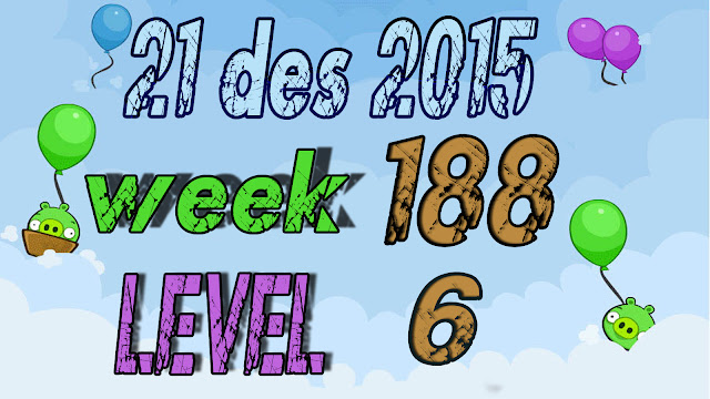 Angry Birds Friends Tournament level 6 Week 188