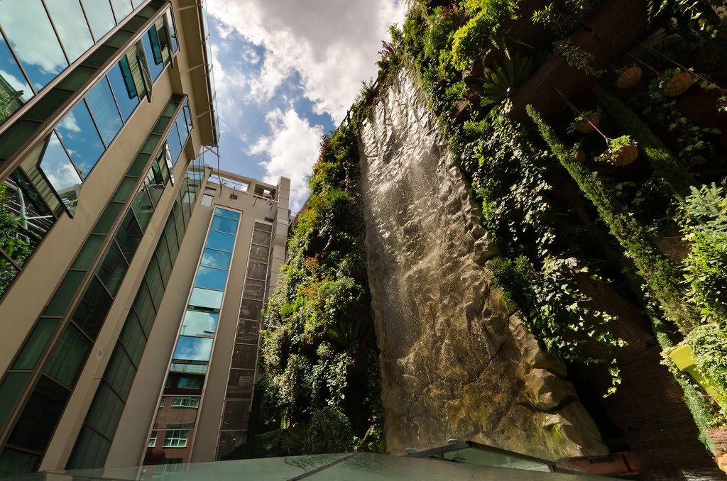 Jardines verticales y cubiertas vegetales junio 2011 Hotel jardines de babilonia