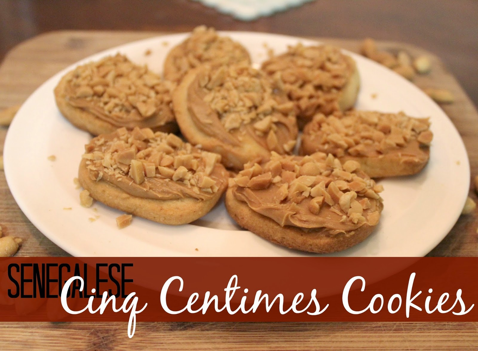 ...   Recipe for Biscuits Cinq Centimes {Five Cent Cookies from Senegal