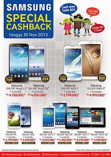 Samsung Special Cashback Hingga Rp 1 Juta