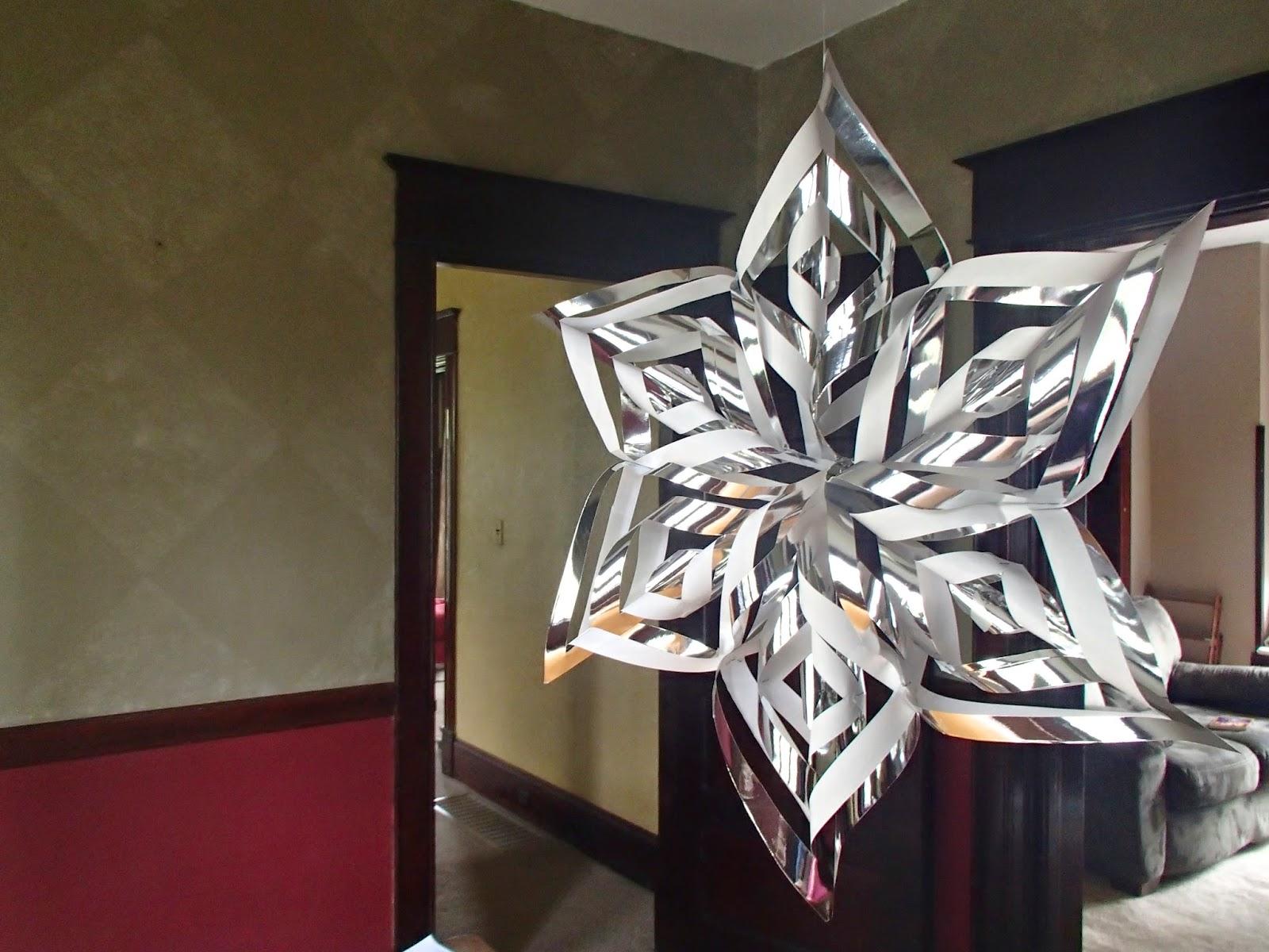 3-D snowflake
