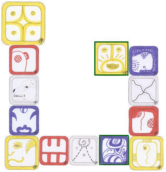 Afbeeldingsresultaat voor gele ster golf maya