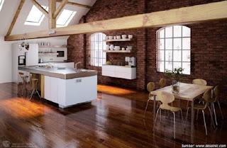 ruang makan yang nyaman