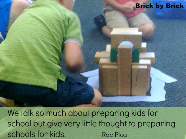 Preparing Schools for Kids (Brick by Brick)