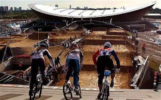 Dirt track BMX race bike