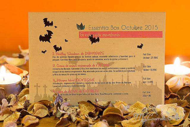 Essentia Box de octubre de 2015: La noche más terrorífica.