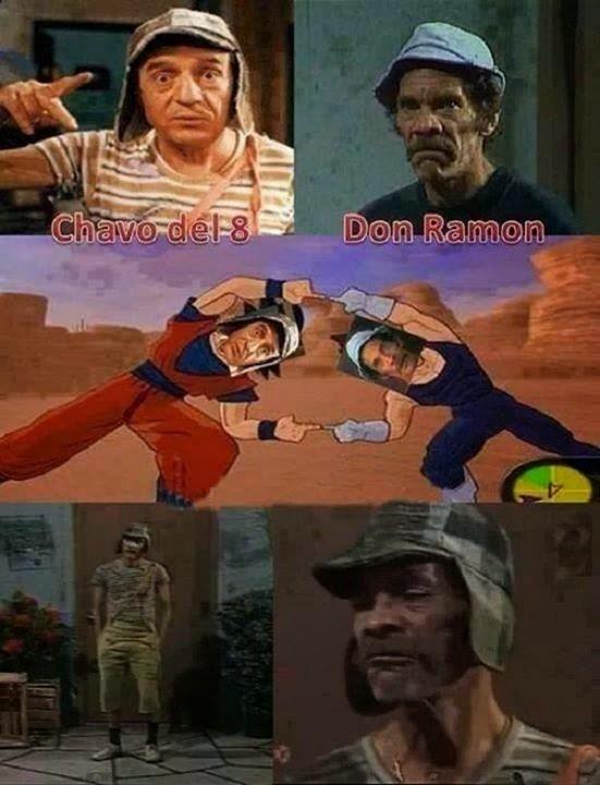 Chavo del 8 y Don Ramón