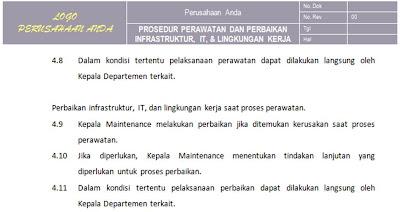 Dokumen Sistem Manajemen