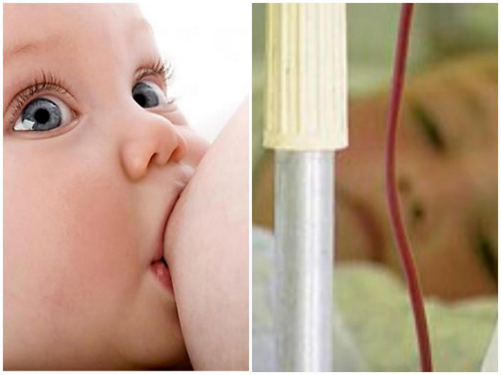 Грудное молоко и переливание крови