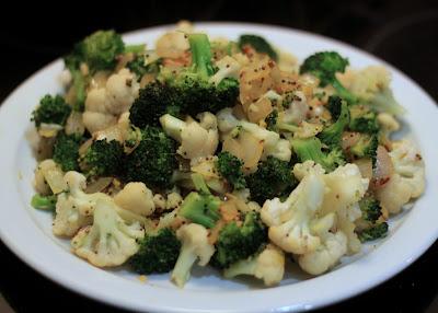broccoli ginger garlic
