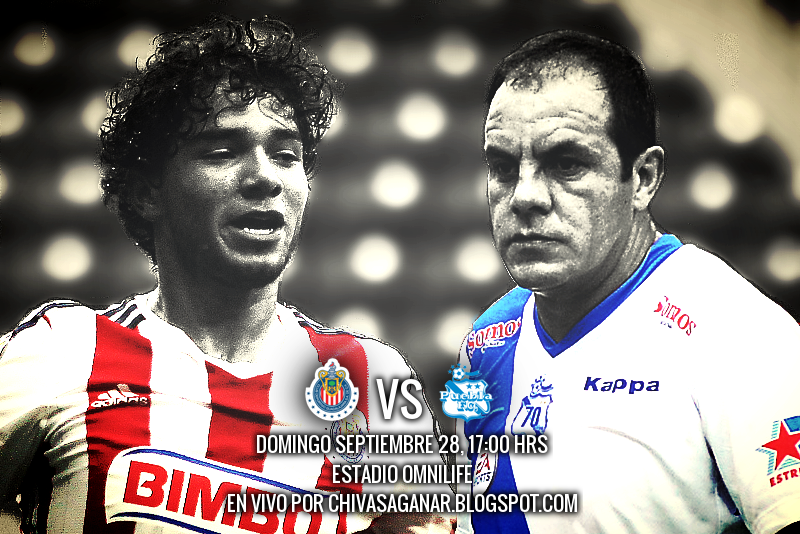 CD Guadalajara vs Puebla FC - Jornada 10 Apertura 2014.