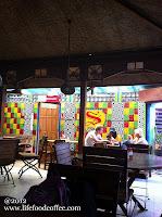 Interior Superman Restaurant at Sosrowijayan Gang 1 Street Yogyakarta