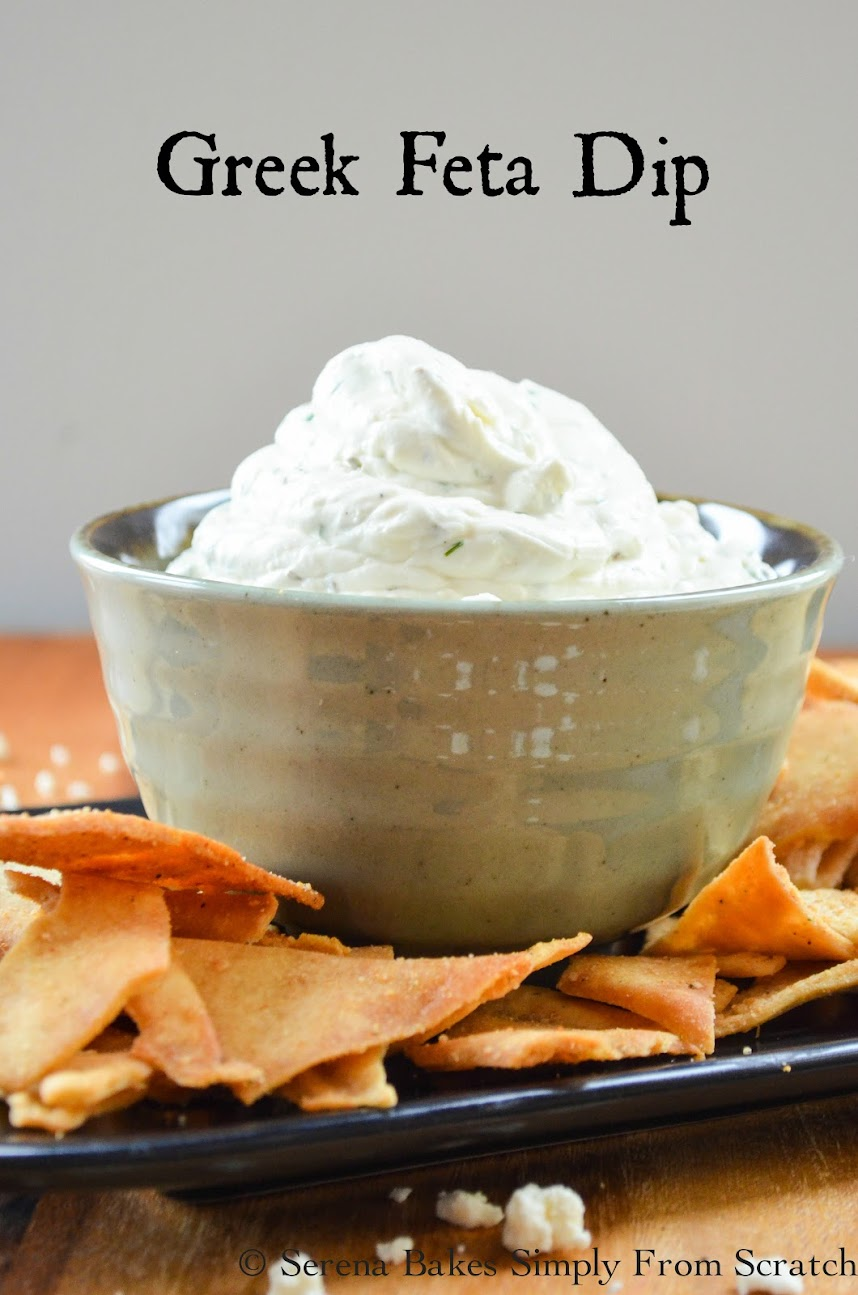 Greek Feta Dip is perfect for a party.