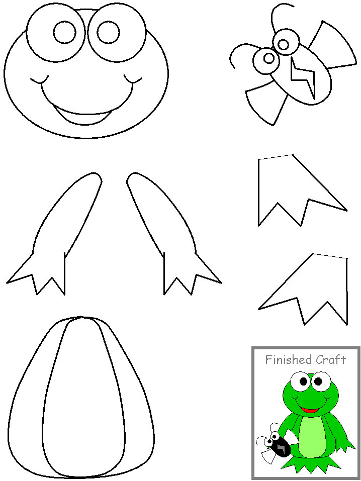 Preschool Cut and Paste Crafts