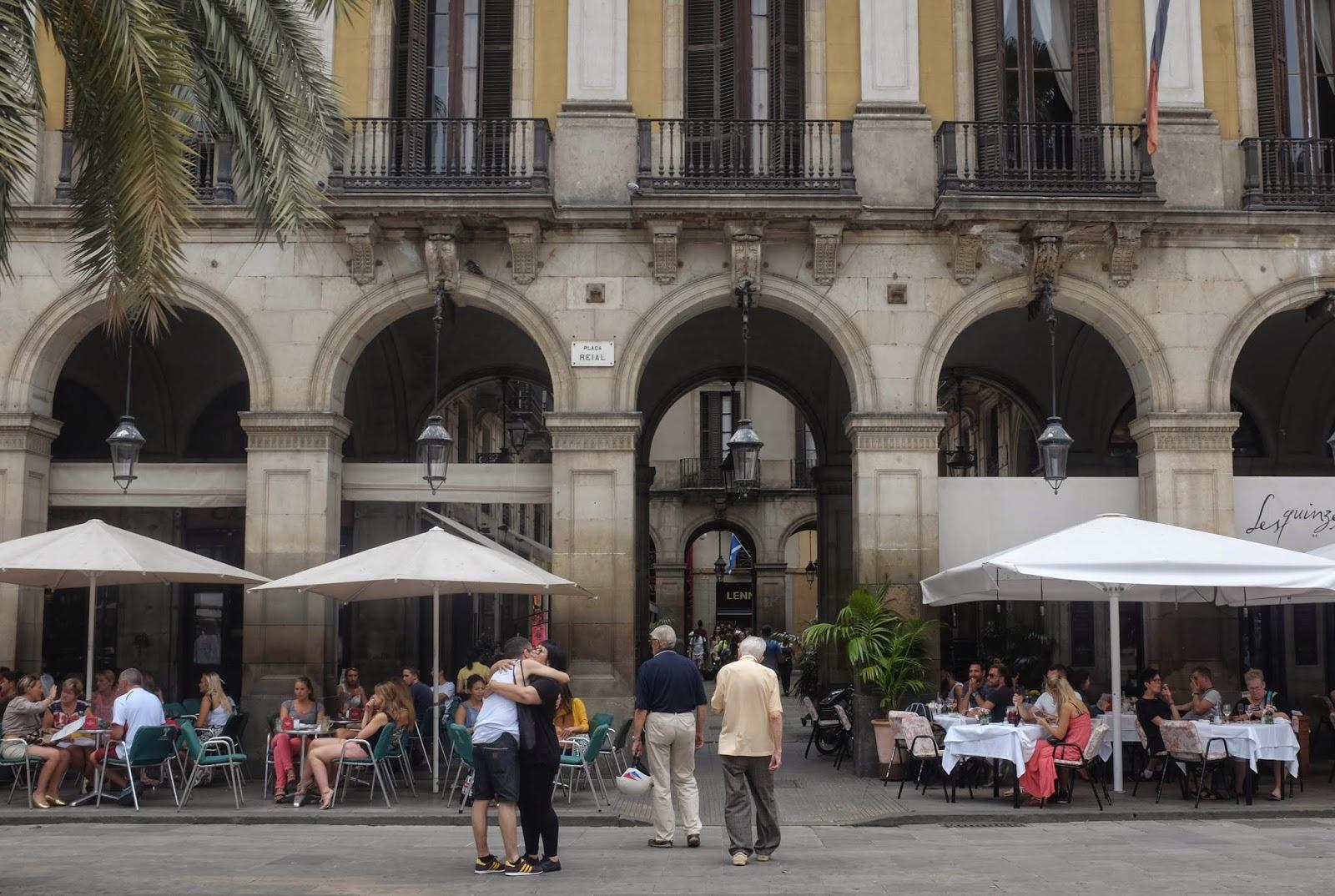Plaça Reial (Royal Plaza) Barcelona