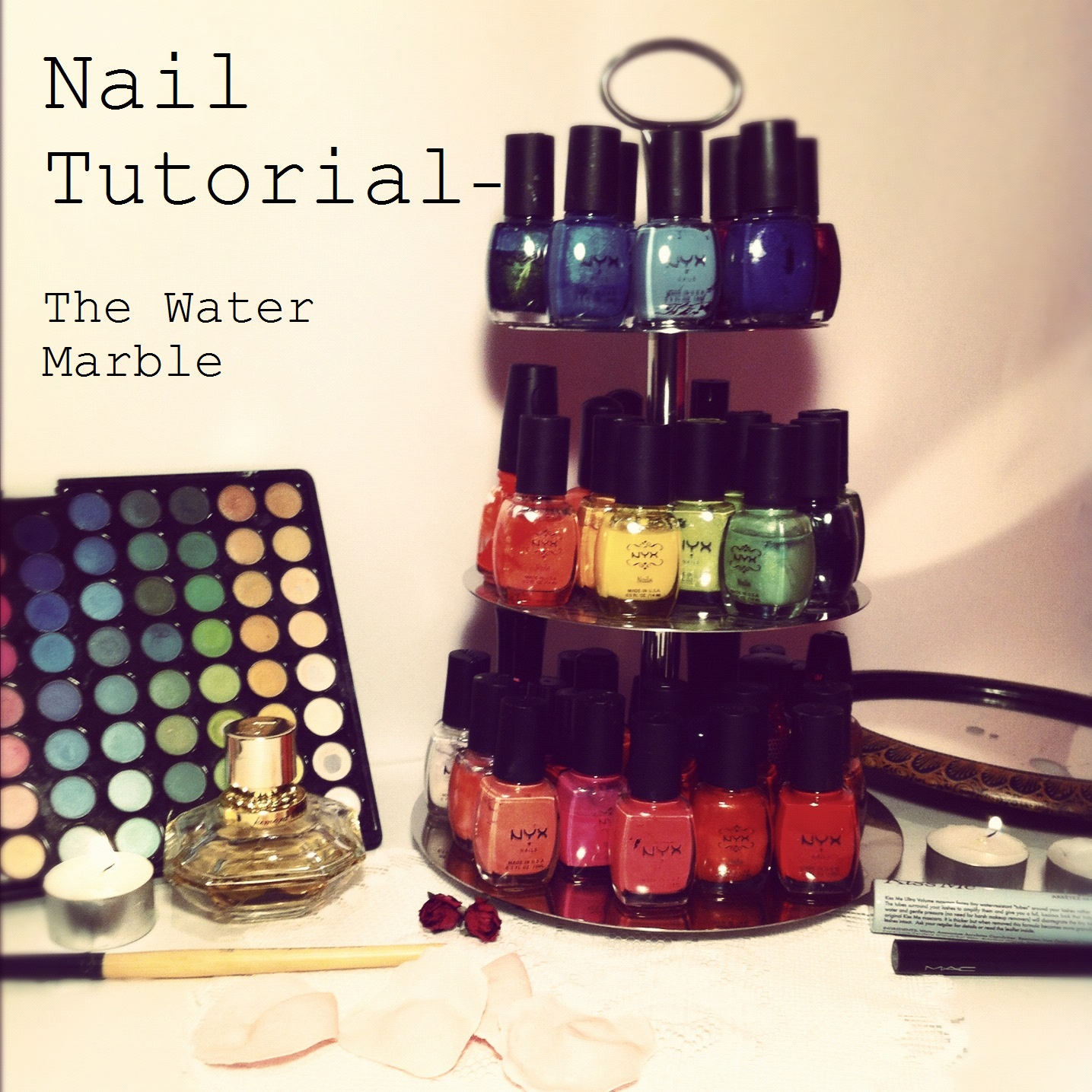 Made With Love: Water Marble Nails