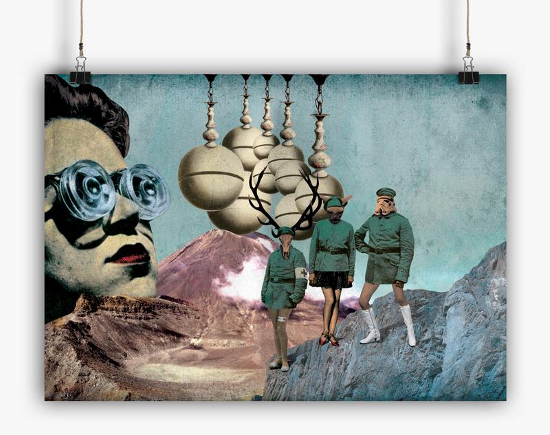 """©Ruben Lorenzo """"Atelier"""" - Collage"""