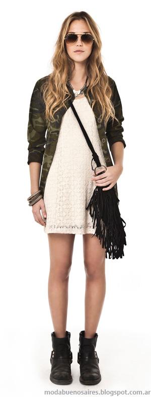 Sacos 2014. Moda 2014 Inversa ropa de mujer.