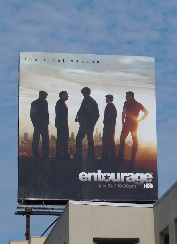 Entourage final season billboard